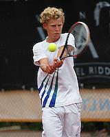August 8, 2014, Netherlands, Rotterdam, TV Victoria, Tennis, National Junior Championships, NJK,   Moichiel de<br /> Photo: Tennisimages/Henk Koster