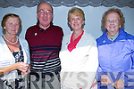 BEEDS: At the Annual Ballyheigue Pattern day Mass at St Mary's Well on Monday l-r: peggy Lynch (Beaufort), John Kerins,Margaret and Liz Enright (Gortatlea).