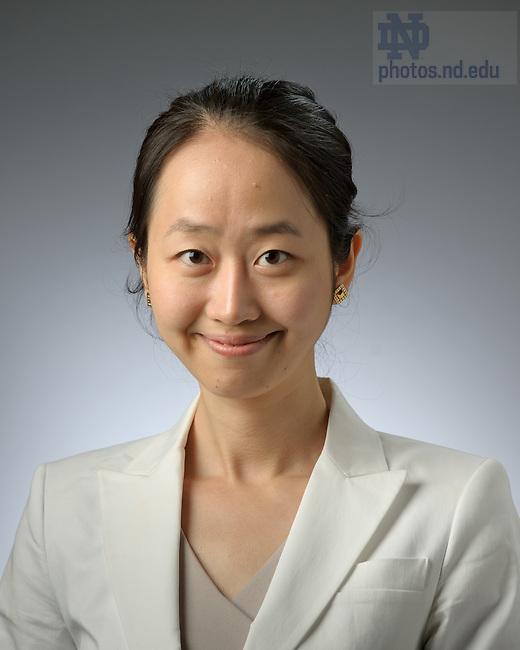 Aug. 9, 2012; Jasmine Hu..Photo by Matt Cashore/University of Notre Dame