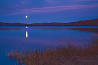Moonrise on Lake of Two Rivers <br /> Algonquin Provincial Park<br /> Ontario<br /> Canada