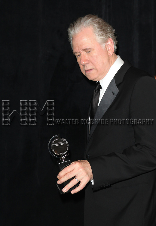 John Larroquette.in the Press Room at The 65th Annual Tony Awards in New York City.