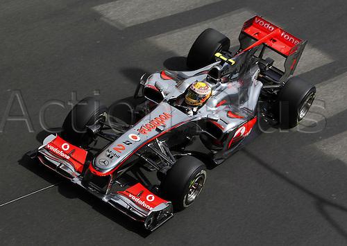 16/05/2010 Formula one GP Monaco Monte Carlo, Lewis Hamilton GBR Vodafone McLaren Mercedes.