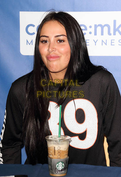 Marnie Simpson signing Stripped Bare at WHSmith Midsummer Arcade, Milton Keynes, Bucks, UK on June 10th 2017 <br /> CAP/JIL<br /> &copy; Jill Mayhew/Capital Pictures