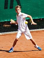 08-08-11, Tennis, Hillegom, Nationale Jeugd Kampioenschappen, NJK, Alec Deckers (NED)