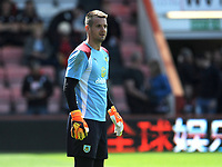 Burnley's Thomas Heaton during the pre-match warm-up <br /> <br /> Photographer Ian Cook/CameraSport<br /> <br /> The Premier League - Bournemouth v Burnley - Saturday 13th May 2017 - Vitality Stadium - Bournemouth<br /> <br /> World Copyright &copy; 2017 CameraSport. All rights reserved. 43 Linden Ave. Countesthorpe. Leicester. England. LE8 5PG - Tel: +44 (0) 116 277 4147 - admin@camerasport.com - www.camerasport.com