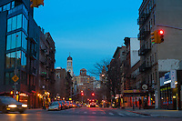 Greenwich Village Street Scene, New York