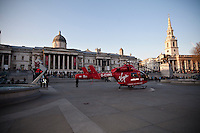 21.03.2012 - Helicopter Ambulance lands in Trafalgar Square