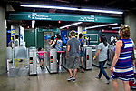 Estação do Metrô em São Paulo. 2010. Foto de Juca Martins.