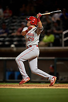 Chattanooga Lookouts Mitch Nay (29) at bat during a Southern League game against the Birmingham Barons on May 2, 2019 at Regions Field in Birmingham, Alabama.  Birmingham defeated Chattanooga 4-2.  (Mike Janes/Four Seam Images)