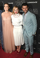 NEW YORK, NY - AUGUST 09: Brie Larson, Naomi Watts and Max Greenfield  attends 'The Glass Castle' New York Screening at SVA Theatre on August 9, 2017 in New York City. <br /> CAP/MPI/JP<br /> &copy;JP/MPI/Capital Pictures