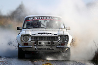 2nd February 2020; Galway, Galway, Ireland; Irish Tarmac Rally Championship, Galway International Rally;  Maurice Meskell and Stephen Meskell (Ford Escort Mk1) win the Historic category of the rally