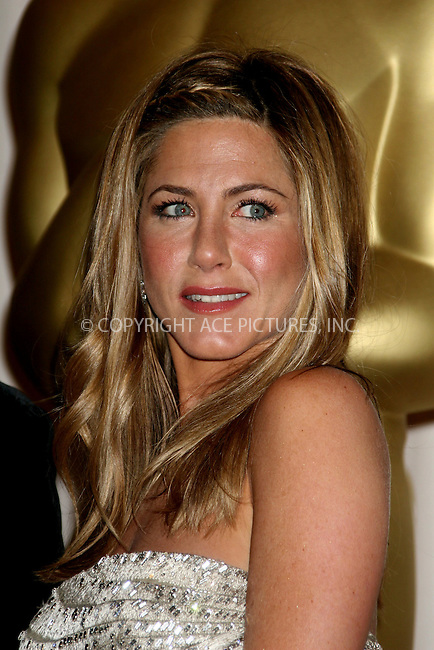 Feb 22, 2009 - Hollywood, California, USA - Actress JENNIFER ANISTON in the press room at the 81st Annual Academy Awards held at the Kodak Theatre in Hollywood..(Credit Image: ©  /ZUMA Press)