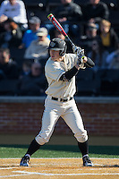 Jonathan Pryor (11) of the Wake Forest Demon Deacons at bat against the Richmond Spiders at David F. Couch Ballpark on March 6, 2016 in Winston-Salem, North Carolina.  The Demon Deacons defeated the Spiders 17-4.  (Brian Westerholt/Four Seam Images)