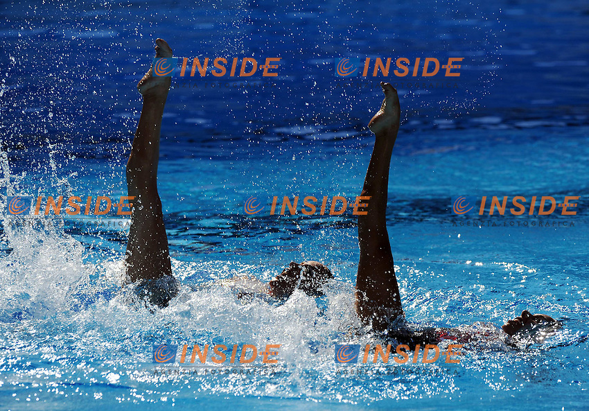 Roma 20th July 2009 - 13th Fina World Championships From 17th to 2nd August 2009..Rome (Italy) 20 07 2009..Synchronized swimming - Technical duet preliminaries..Team Canada......photo: Roma2009.com/InsideFoto/SeaSee.com