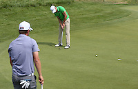 Maximilian Kieffer (GER) putts for birdie on his way to a 65 during Round Three of the 2015 Alstom Open de France, played at Le Golf National, Saint-Quentin-En-Yvelines, Paris, France. /04/07/2015/. Picture: Golffile | David Lloyd<br /> <br /> All photos usage must carry mandatory copyright credit (© Golffile | David Lloyd)