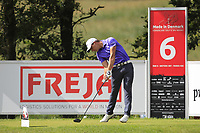 Haydn Porteous (RSA) on the 6th tee during Round 4 of Made in Denmark at Himmerland Golf &amp; Spa Resort, Farso, Denmark. 27/08/2017<br /> Picture: Golffile | Thos Caffrey<br /> <br /> All photo usage must carry mandatory copyright credit     (&copy; Golffile | Thos Caffrey)