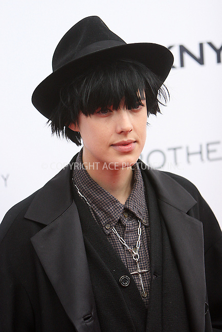 WWW.ACEPIXS.COM . . . . .  ....November 22 2009, New York City....Model Agyness Deyn at The Cinema Society, Details and DKNY screening of 'Brothers' at the SVA Theater on November 22, 2009 in New York City.....Please byline: NANCY RIVERA- ACEPIXS.COM.... *** ***..Ace Pictures, Inc:  ..Tel: 646 769 0430..e-mail: info@acepixs.com..web: http://www.acepixs.com