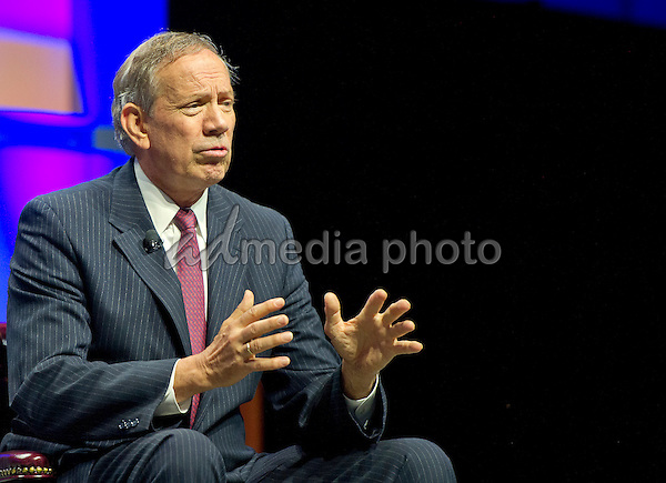Former Governor George Pataki (Republican of New York), a candidate for the 2016 Republican nomination for President of the United States, shares his thoughts on Israel and the Middle East at the 2015 Christians United For Israel Summit Candidates Forum at the Washington Convention Center in Washington, DC on Monday, July 13, 2015. Photo Credit: Ron Sachs/CNP/AdMedia