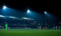 during the Sky Bet League 2 match between Newport County and Wycombe Wanderers at Rodney Parade, Newport, Wales on 22 November 2016. Photo by Mark  Hawkins.