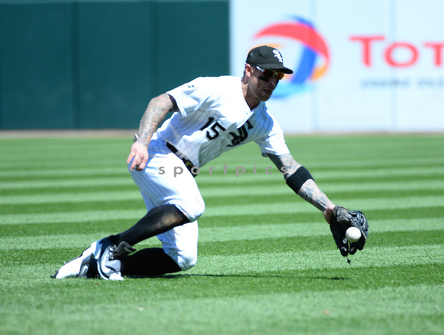 Chicago White Sox Brett Lawrie (15) during a game against the Atlanta Braves on July 9, 2016 at US Cellular Field in Chicago, IL. The White Sox beat the Braves 5-4.