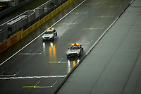 11th July 2020; Styria, Austria; FIA Formula One World Championship 2020, Grand Prix of Styria qualifying sessions; F1 Safety Car, Mercedes-AMG GT R and F1 Medical Car, heavy rain at Spielberg Austria