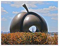 hudson, new jersey, nj, apple, bush, spring, statues