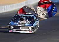 Jul 28, 2017; Sonoma, CA, USA; NHRA top sportsman driver Paul Gladden during qualifying for the Sonoma Nationals at Sonoma Raceway. Mandatory Credit: Mark J. Rebilas-USA TODAY Sports