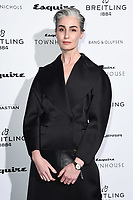 LONDON, UK. October 16, 2019: Erin O'Connor arriving for the Esquire Townhouse 2019 launch party, London.<br /> Picture: Steve Vas/Featureflash