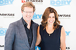 """Andrew Stanton and Lindsay Collins attends to the morning premiere of the film """"Buscando a Dory"""" at Cines Kinepolis in Madrid. June 19. 2016. (ALTERPHOTOS/Borja B.Hojas)"""