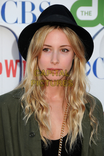 Gillian Zinser.CBS, CW and Showtime Summer 2011 TCA Party held at The Pagoda, Beverly Hills, California, USA..August 3rd, 2011.headshot portrait green top black .CAP/ADM/BP.©Byron Purvis/AdMedia/Capital Pictures.