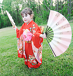 The Gazette. Jessica Nather, 4 of Silver Spring practices her dancing before her and her group Shizume Kodomo Dance Troupe perform for the Asian Pacific American Heritage Month Reception at Oxon Hill manor on Friday evening.