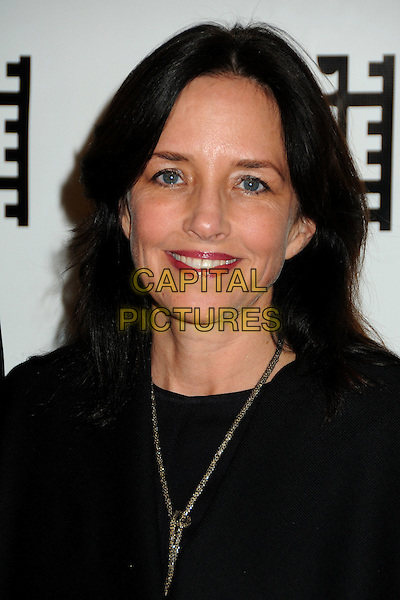 LESLEY CHILCOTT .61st Annual ACE Eddie Awards held at The Beverly Hilton Hotel, Beverly Hills, California, USA, 19th February 2011..portrait headshot black necklace smiling .CAP/ADM/BP.©Byron Purvis/AdMedia/Capital Pictures.