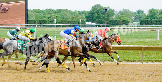 Richie's Rocket winning at Delaware Park on 5/26/12