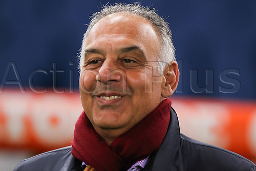 04.03.2016. Stadium Olimpico, Rome, Italy.  Serie A football league. AS Roma versus Fiorentina. James Pallotta president of Roma