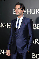 "HOLLYWOOD, CA - AUGUST 16: Rodrigo Santoro at the LA Premiere of the Paramount Pictures and Metro-Goldwyn-Mayer Pictures title ""Ben-Hur"", at the TCL Chinese Theatre IMAX on August 16, 2016 in Hollywood, California. Credit: David Edwards/MediaPunch"