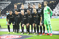 Mannschaft Eintracht Frankfurt - 02.05.2019: Eintracht Frankfurt vs. Chelsea FC London, UEFA Europa League, Halbfinale Hinspiel, Commerzbank Arena DISCLAIMER: DFL regulations prohibit any use of photographs as image sequences and/or quasi-video.