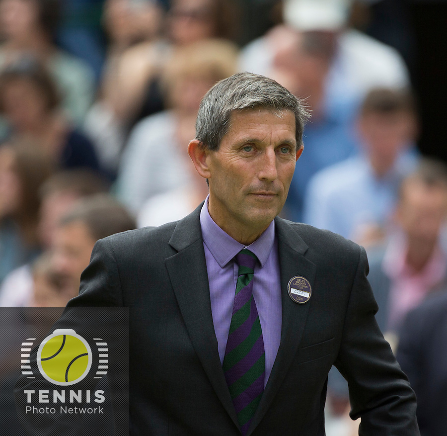 ANDREW JARRETT (WIMBLEDON TOURNAMENT DIRECTOR)<br /> The Championships Wimbledon 2014 - The All England Lawn Tennis Club -  London - UK -  ATP - ITF - WTA-2014  - Grand Slam - Great Britain -  5th July 2014. <br /> <br /> © Tennis Photo Network