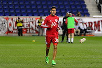 Harrison, NJ - Wednesday Feb. 22, 2017: Gonzalo Veron prior to a Scotiabank CONCACAF Champions League quarterfinal match between the New York Red Bulls and the Vancouver Whitecaps FC at Red Bull Arena.