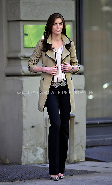 WWW.ACEPIXS.COM<br /> <br /> June 4 2013, New York City<br /> <br /> Model Hilary Rhoda took part in a photo shoot in SDoho on June 4 2013 in New York City<br /> <br /> <br /> By Line: Curtis Means/ACE Pictures<br /> <br /> <br /> ACE Pictures, Inc.<br /> tel: 646 769 0430<br /> Email: info@acepixs.com<br /> www.acepixs.com
