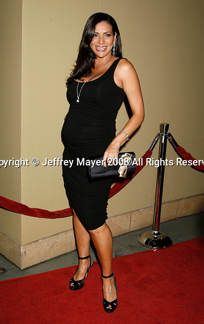 """HOLLYWOOD, CA. - October 07: Actress Constance Marie arrives at the Padres Contra El Cancer's 8th Annual """"El Sueno De Esperanza"""" Benefit Gala at the Hollywood & Highland Center on October 7, 2008 in Hollywood, California."""