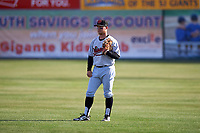 Visalia Rawhide second baseman Camden Duzenack (1) during a California League game against the San Jose Giants on April 13, 2019 at San Jose Municipal Stadium in San Jose, California. Visalia defeated San Jose 4-2. (Zachary Lucy/Four Seam Images)