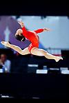 Soyoka Hanawa (JPN), <br /> AUGUST 21, 2018 - Artistic Gymnastics : <br /> Women's Individual All-Around Floor Exercise <br /> at JIEX Kemayoran Hall D <br /> during the 2018 Jakarta Palembang Asian Games <br /> in Jakarta, Indonesia. <br /> (Photo by Naoki Nishimura/AFLO SPORT)