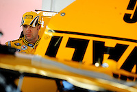 Feb 07, 2009; Daytona Beach, FL, USA; NASCAR Sprint Cup Series driver Matt Kenseth during practice for the Daytona 500 at Daytona International Speedway. Mandatory Credit: Mark J. Rebilas-