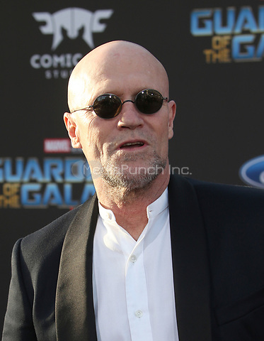 "HOLLYWOOD, CA - April 19: Michael Rooker, At Premiere Of Disney And Marvel's ""Guardians Of The Galaxy Vol. 2"" At The Dolby Theatre  In California on April 19, 2017. Credit: FS/MediaPunch"