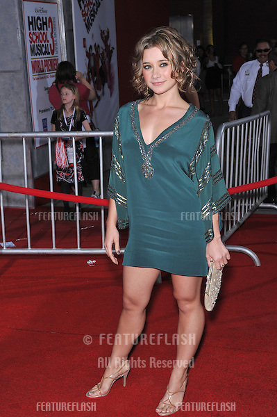 "Olesya Rulin at the Los Angeles premiere of her new movie ""High School Musical 3: Senior Year"" at the Galen Centre, Los Angeles..October 16, 2008  Los Angeles, CA.Picture: Paul Smith / Featureflash"