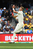 3rd December 2017, Adelaide Oval, Adelaide, Australia; The Ashes Series, Second Test, Day 2, Australia versus England; Stuart Broad runs in to bowl