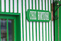 France, Gironde (33), Bassin d'Arcachon, Le Cap-Ferret, Restaurant: Chez Hortense // France, Gironde, Bassin d'Arcachon, Le Cap Ferret, Restaurant: Chez Hortense