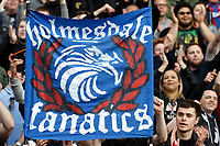 Crystal Palace banners on show during the EPL - Premier League match between Crystal Palace and West Bromwich Albion at Selhurst Park, London, England on 13 May 2018. Photo by Carlton Myrie / PRiME Media Images.