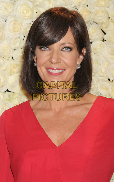 Allison Janney.The QVC Red Carpet Style Event held at The Four Seasons at Los Angeles in Los Angeles, California, USA..February 23rd, 2012.headshot portrait red    .CAP/ROT/TM.©Tony Michaels/Roth Stock/Capital Pictures