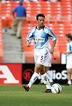 15 May 2004: Wizards midfielder Kerry Zavagnin during pregame warmups. DC United defeated the Kansas City Wizards 1-0 at RFK Stadium in Washington, DC during a regular season Major League Soccer game..